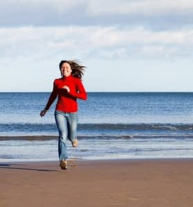 Running on the Sand