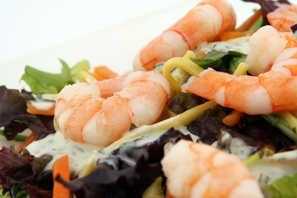 Delicious Shrimp Dinner